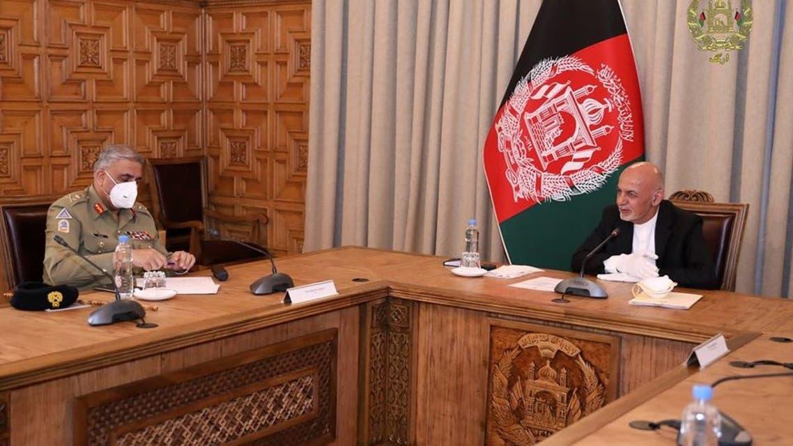 روند صلح محور گفتوگوی رئیسجمهوری افغانستان و ستاد ارتش پاکستان در کابل
