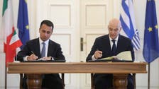 Greece, Italy sign deal on demarcating maritime zones