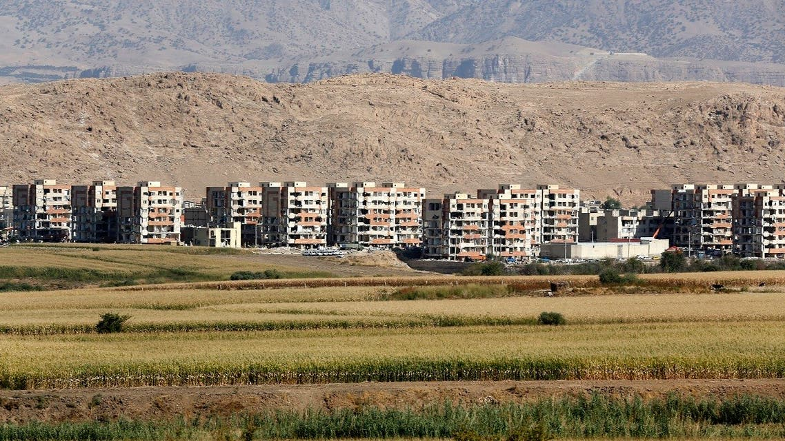 A picture taken on November 15, 2017 shows a general view of the buildings left damaged by a 7.3-magnitude earthquake that struck days before in the town of Sarpol-e Zahab in Iran's western Kermanshah province. (File photo: AFP)