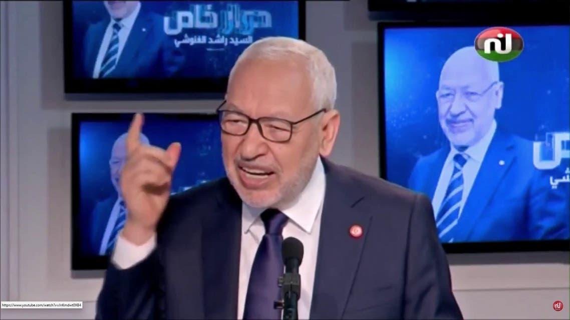 الغنوشي: تونس لديها مصالح كبرى في ليبيا