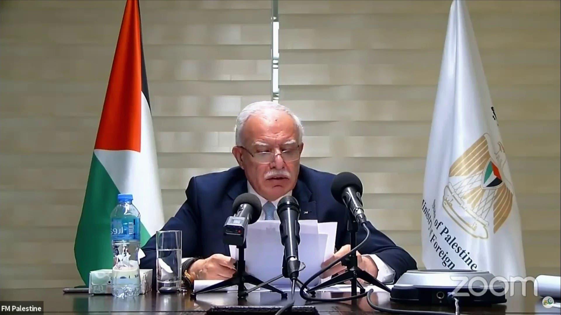 وزیر خارجه فلسطین