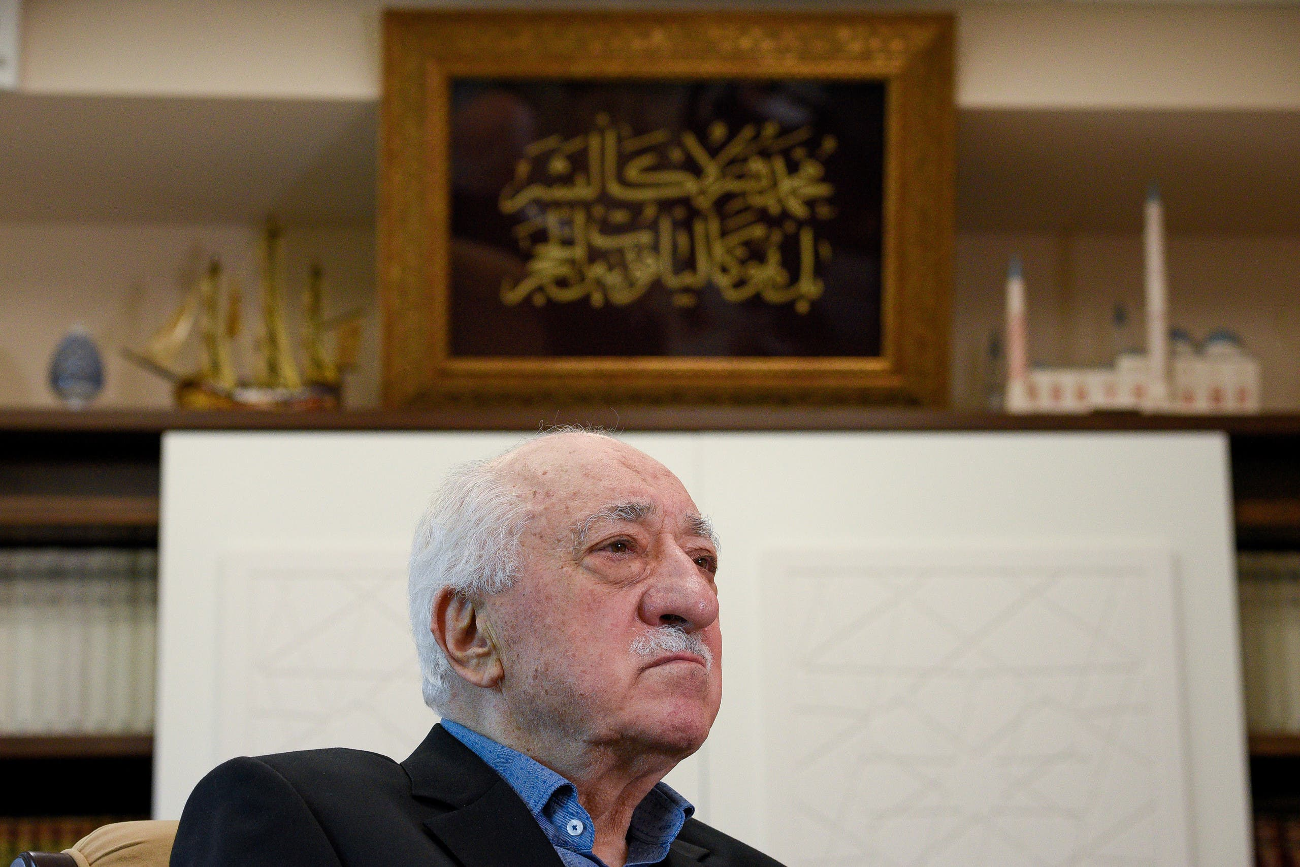 Fethullah Gulen at his home in Saylorsburg, Pennsylvania on July 10, 2017. (Reuters)