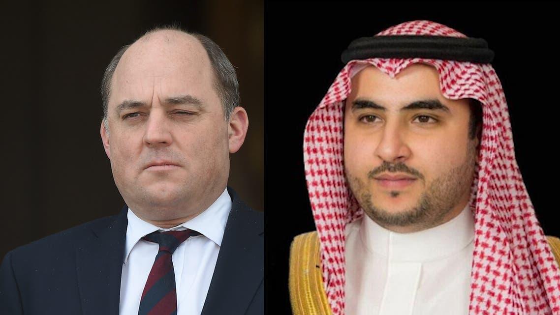 Saudi Arabia Deputy Minister of Defense Prince Khalid bin Salman has received a phone call from British Defense Secretary Ben Wallace