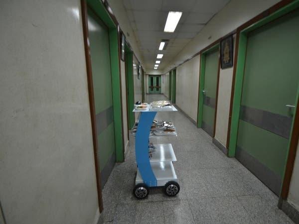 مصر.. روبوت آلي لخدمة مرضى كورونا بمستشفى العزل