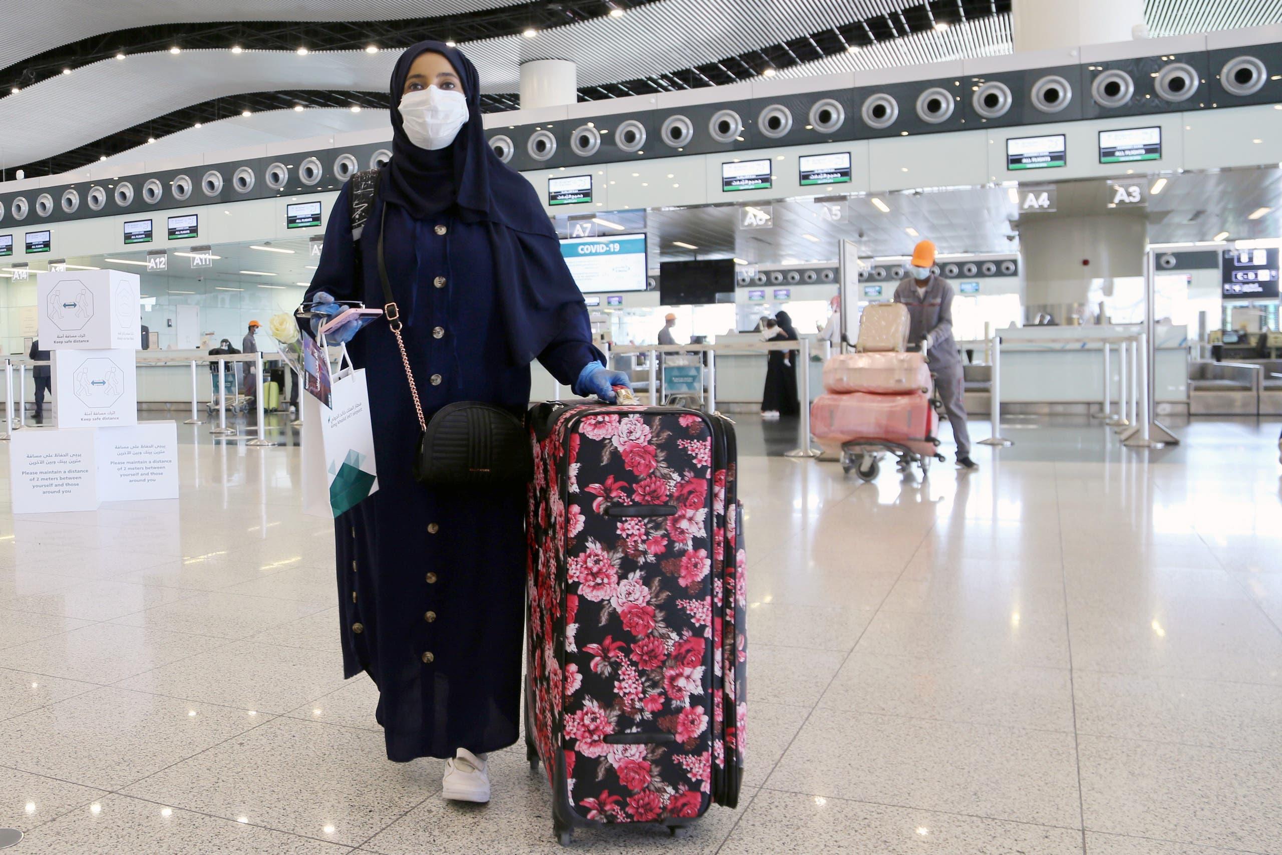 من مطار الرياض الدولي (أرشيفية)