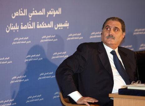 وزير العدل اللبناني السابق القاضي سليم جريصاتي