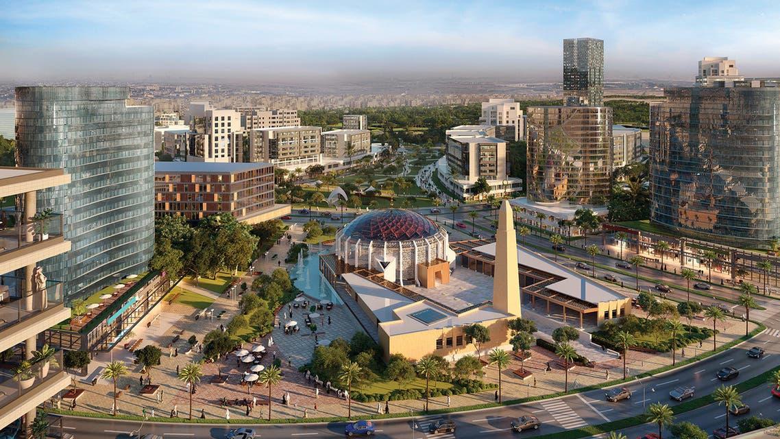مشروع مجمع شمس الرياض التابع شركة دار الأركان