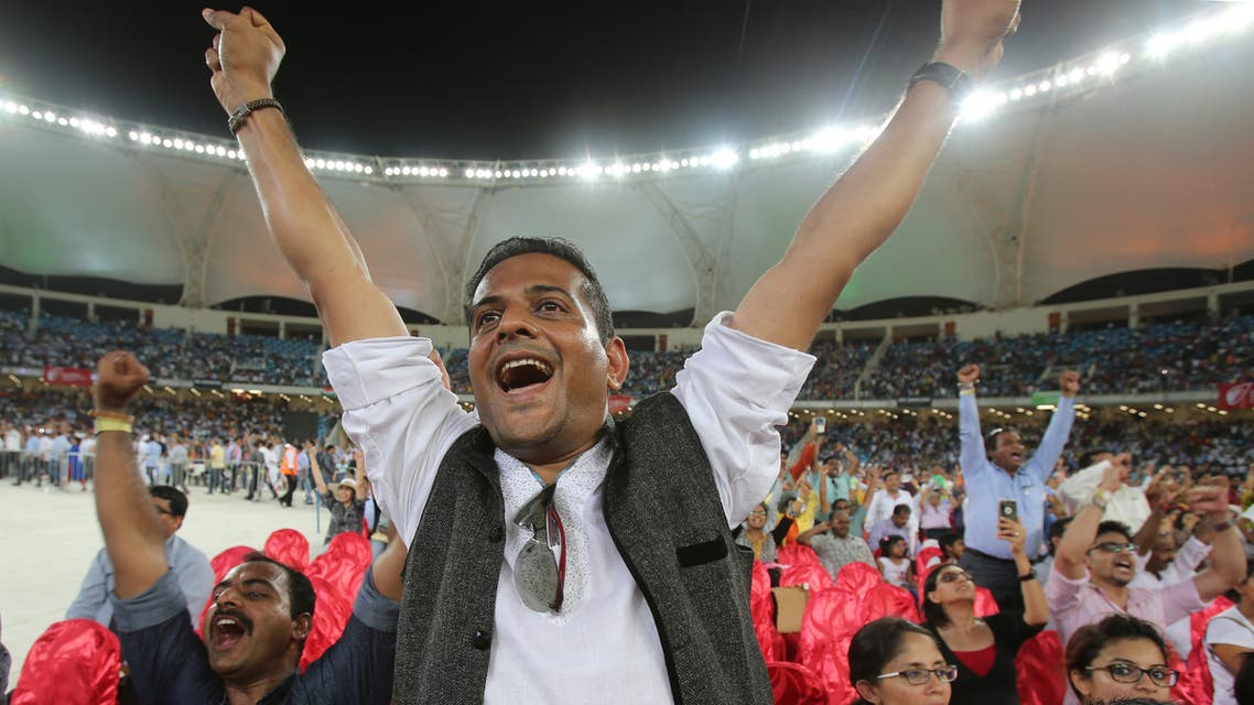Spectators at a cricket stadium on Aug. 17, 2015, in Dubai, United Arab Emirates. (File photo: AP)