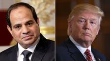 امریکی اور مصری صدور کی لیبیا کی صورت حال پر بات چیت