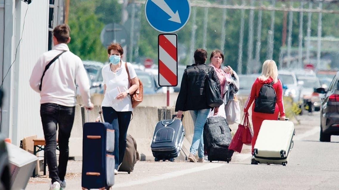 فتح الحدود أوروبا كورونا