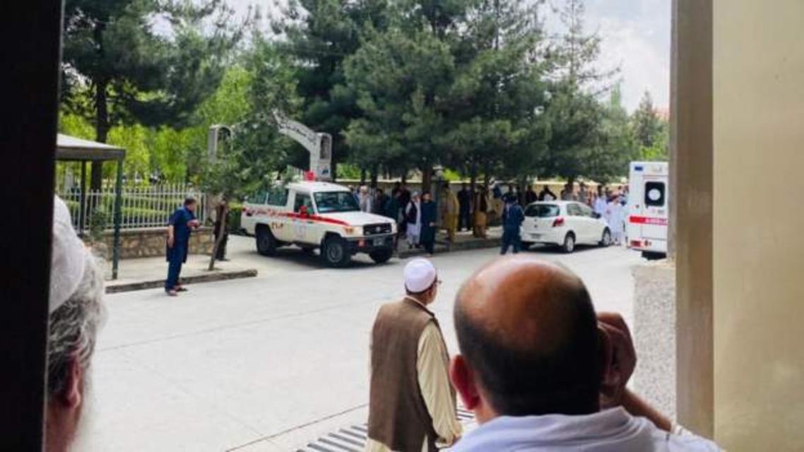 انفجار هنگام نماز جمعه در مسجدی در کابل پایتخت افغانستان