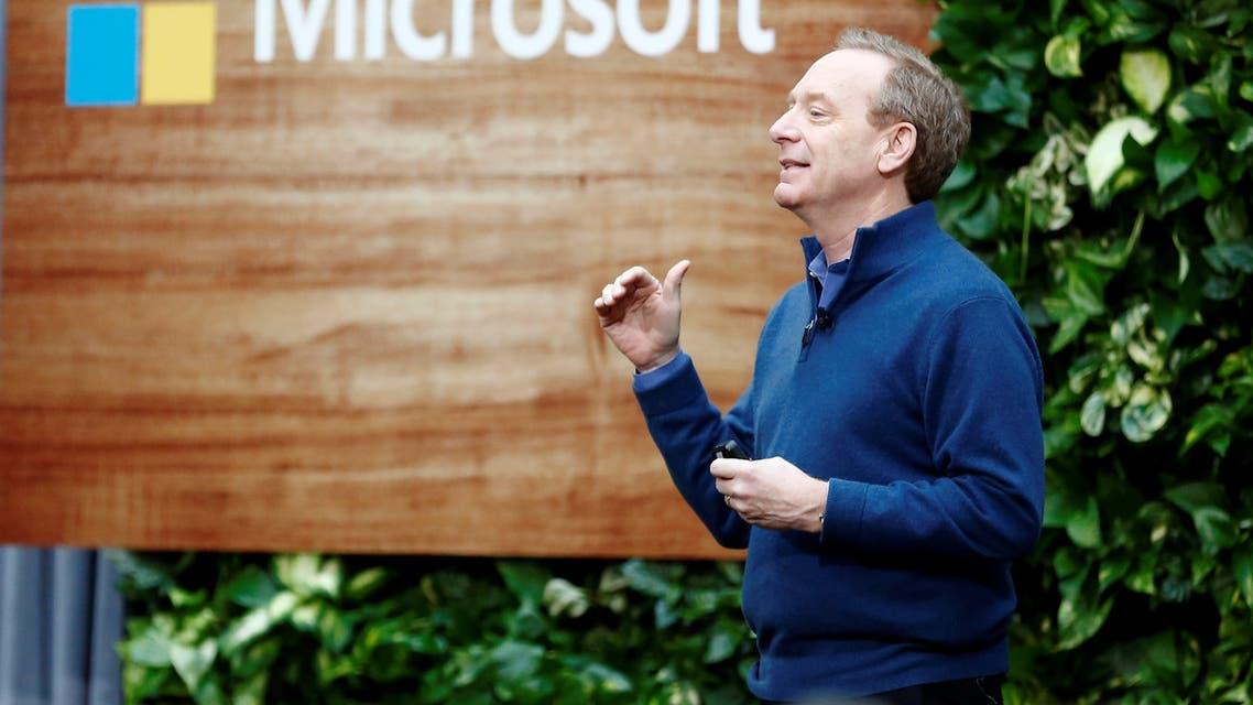 براد سميث رئيس مايكروسوفت يتحدث في واشنطن يوم 16 يناير