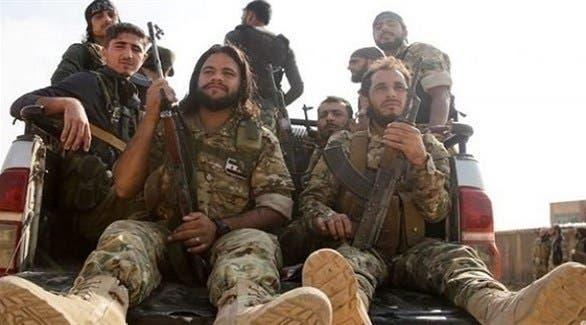 """مرتزقة سوريون في ليبيا """"أرشيفية"""""""
