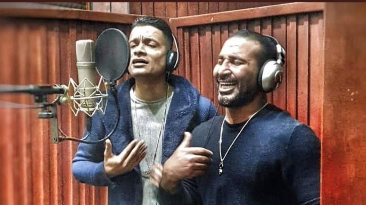 بسبب أغنية.. مقاضاة شاكوش والتحقيق مع أحمد سعد