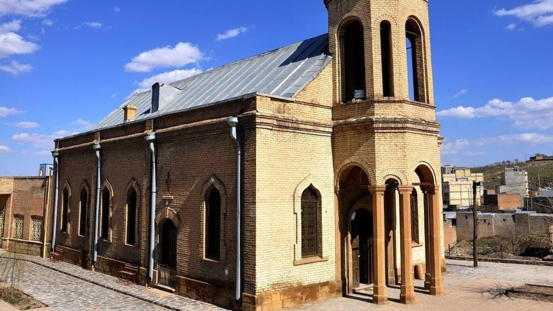 The Saint Mary Church of Hamedan in Iran. (Social media)rom the Hamedan city council website (hamedancouncil.ir)