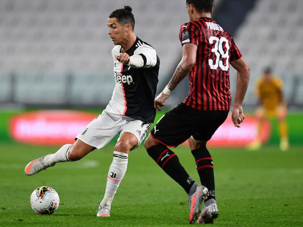 يوفنتوس يتعادل مع ميلان ويتأهل إلى نهائي كأس إيطاليا