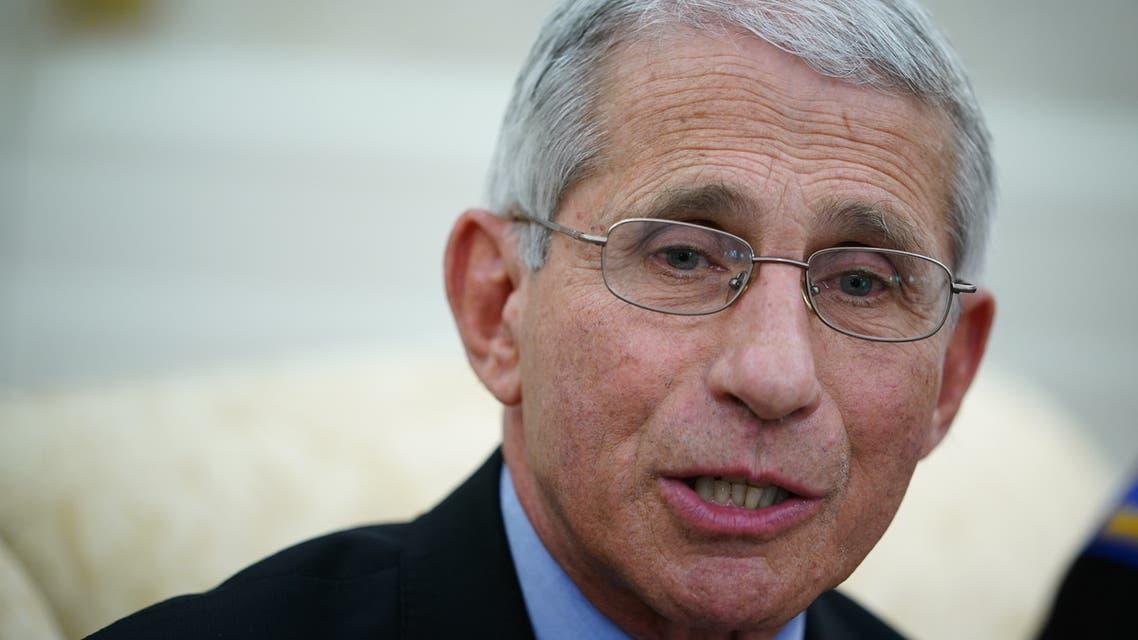 أنتوني فاوتشي، مدير المعهد الوطني للأمراض المعدية في الولايات المتحدة(أرشيفية- فرانس برس)