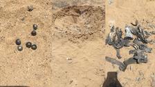 عرب اتحاد نے نجران کے نزدیک یمنی حوثیوں کا داغا بیلسٹک میزائل مارگرایا