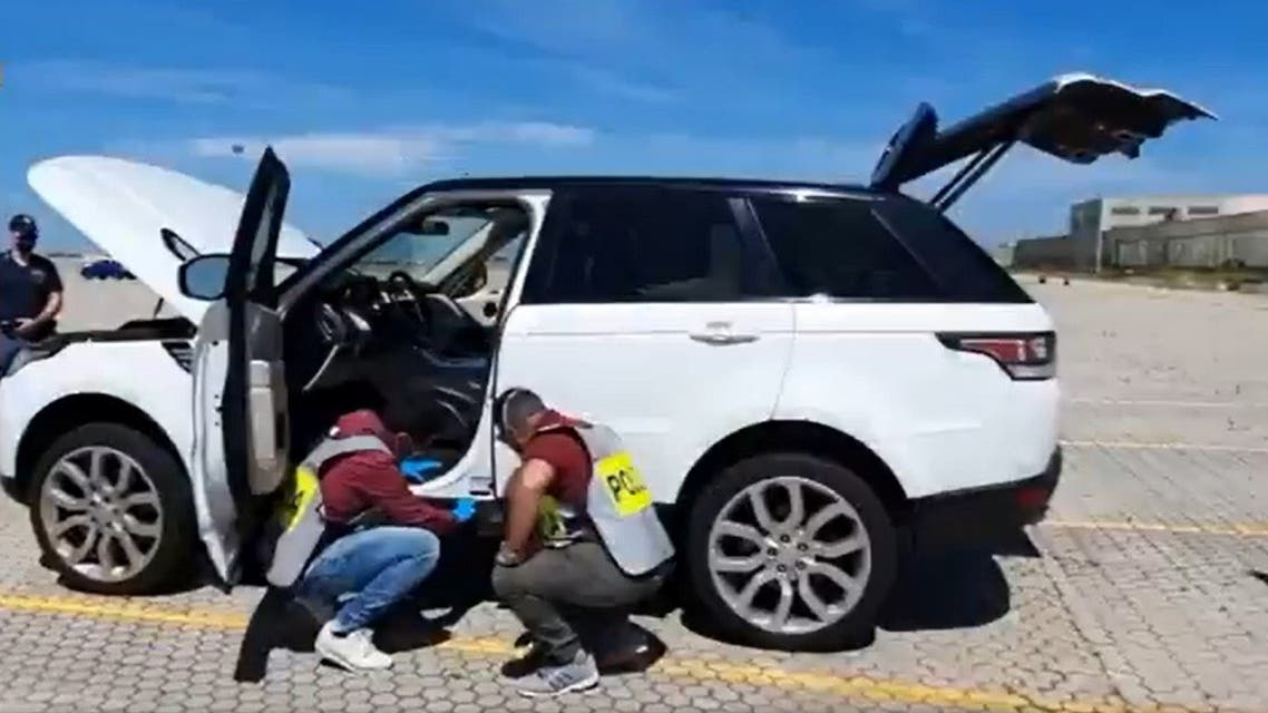 Italian authorities seized 30 stolen vehicles being shipped to Turkey and Libya. (Twitter)