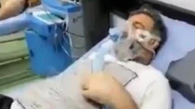شاهد اللحظات الأخيرة لرياضي عراقي معروف هزمه الفيروس