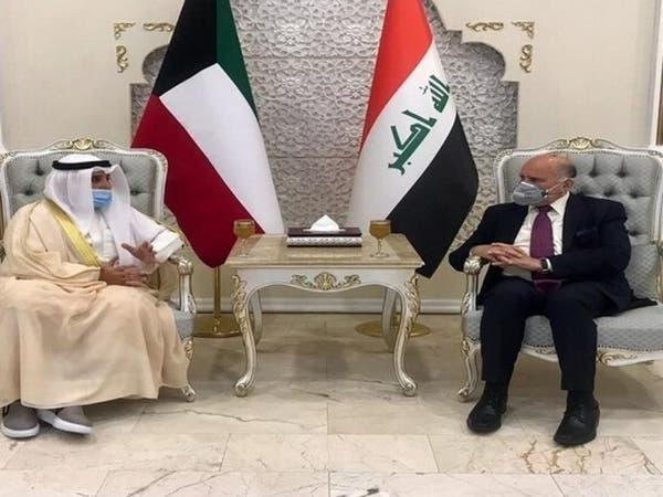 رئيس وزراء العراق يستقبل وزير الخارجية الكويتي في بغداد