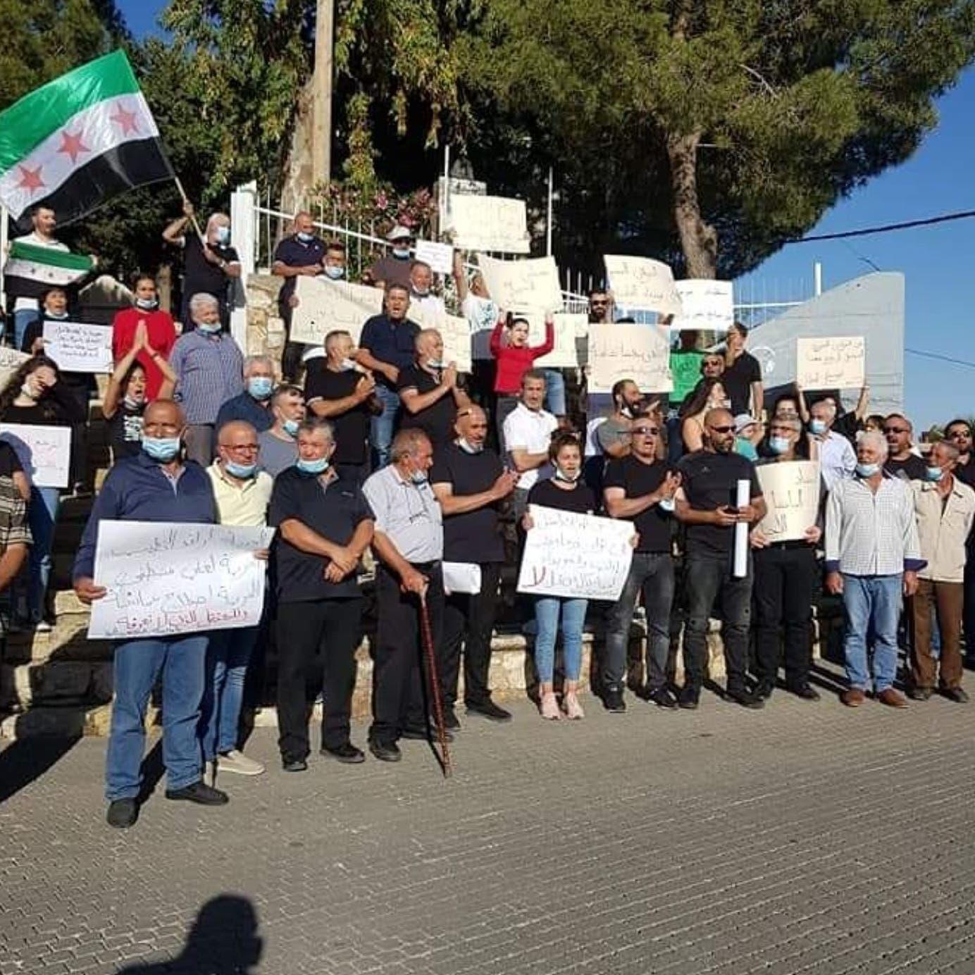 لأول مرة.. الجولان يتضامن مع السويداء ويطالب برحيل الأسد
