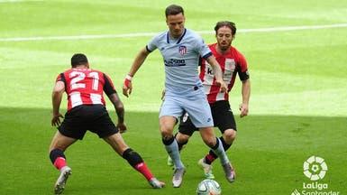 بلباو يتعادل مع أتلتيكو مدريد ويبقيه في المركز السادس
