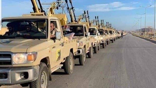 الجيش الليبي يرسل قوات إضافية إلى سرت