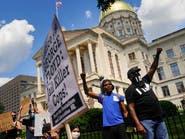 تظاهرات بجورجيا الأميركية بعد مقتل رجل قاوم الشرطة