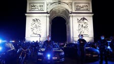 Defying govt orders, French police protest in front of Arc de Triomphe