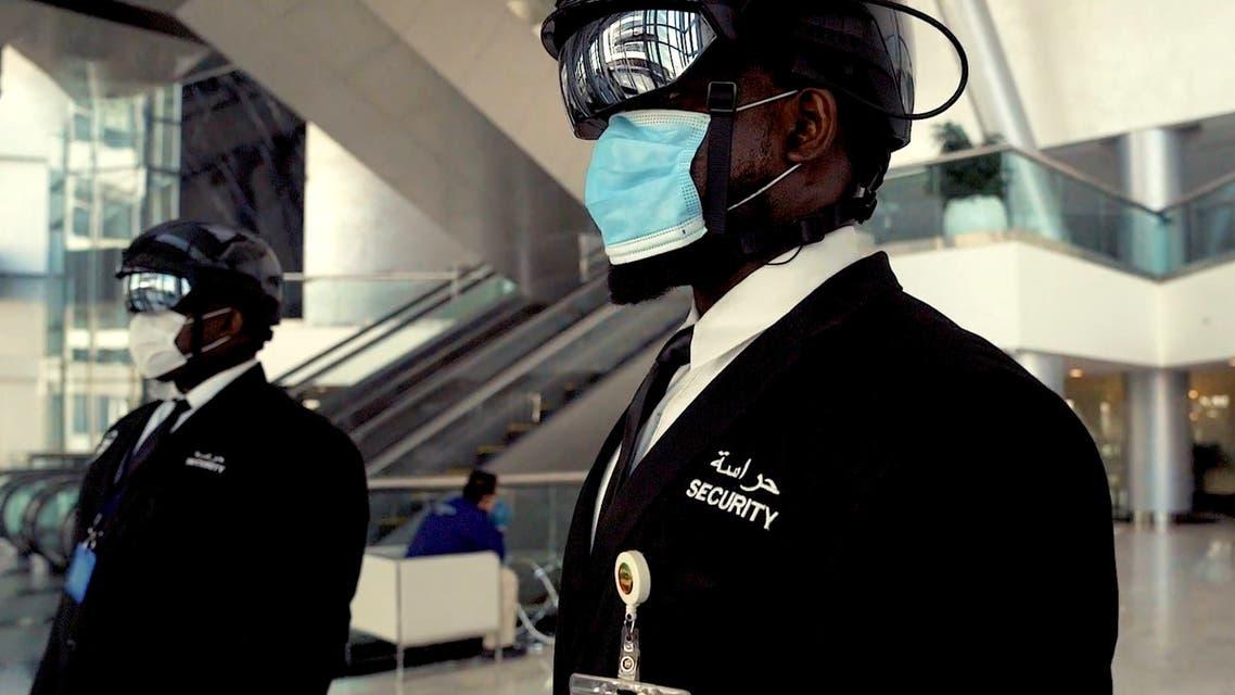 DP World's World Security launches 'Smart Helmet' to detect coronavirus in UAE