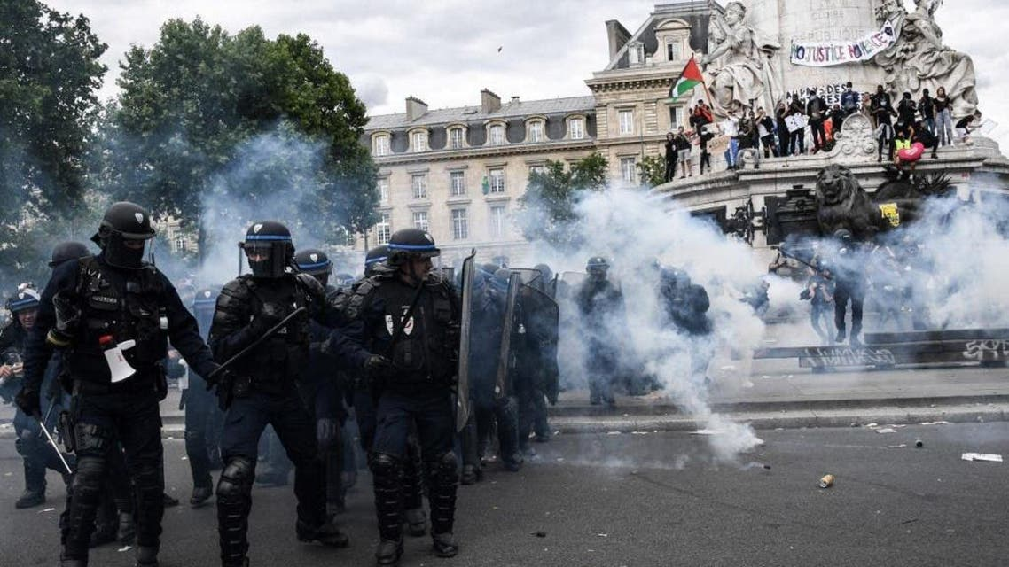 France: Protest