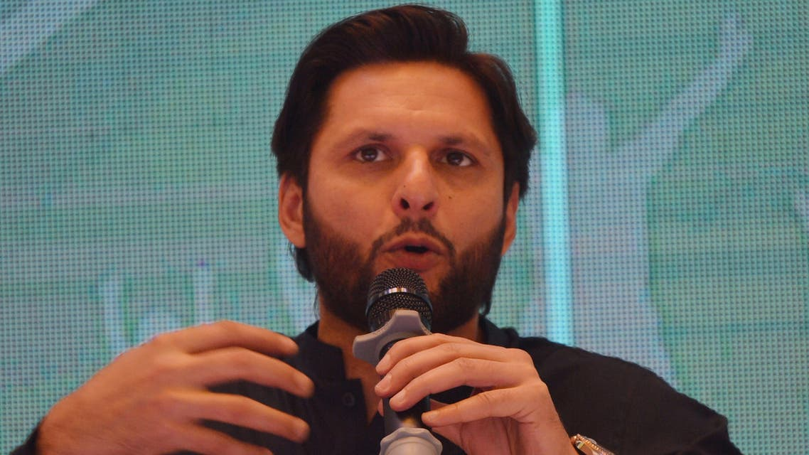 Sultan Afridi launches autobiography in Pakistan, May 4, 2020. (AFP)