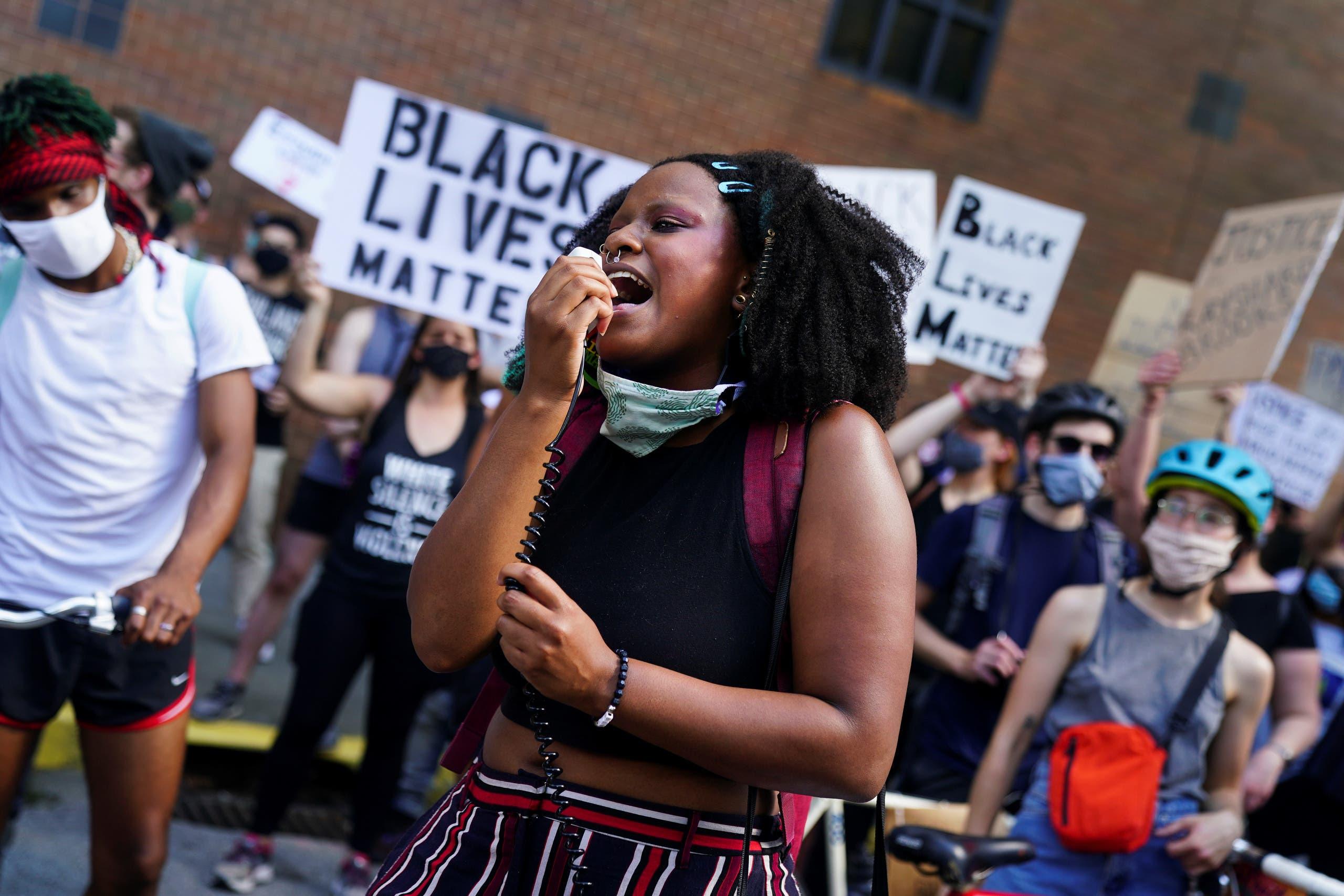 من تظاهرات أميركا