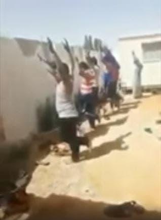 تعذيب عمال مصريين