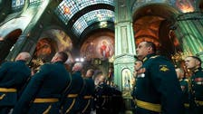 Russia inaugurates cathedral without mosaics of President Putin, Stalin