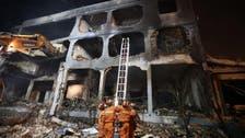 چین میں گیس سے بھرے ٹینکر ٹرک میں خوف ناک دھماکا ، 19 افراد ہلاک اور 200 زخمی