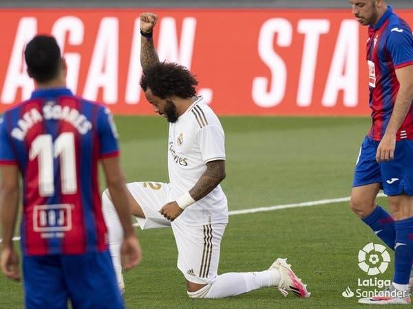 ريال مدريد يهزم إيبار ويواصل مطاردة برشلونة