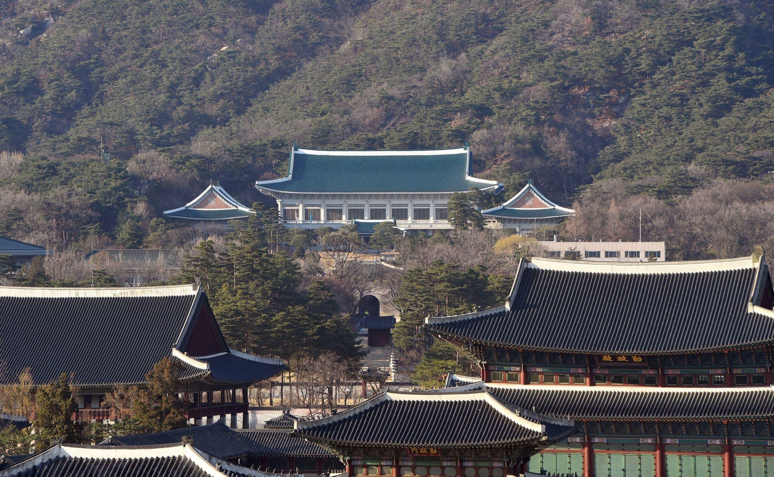 البيت الأزرق الرئاسي