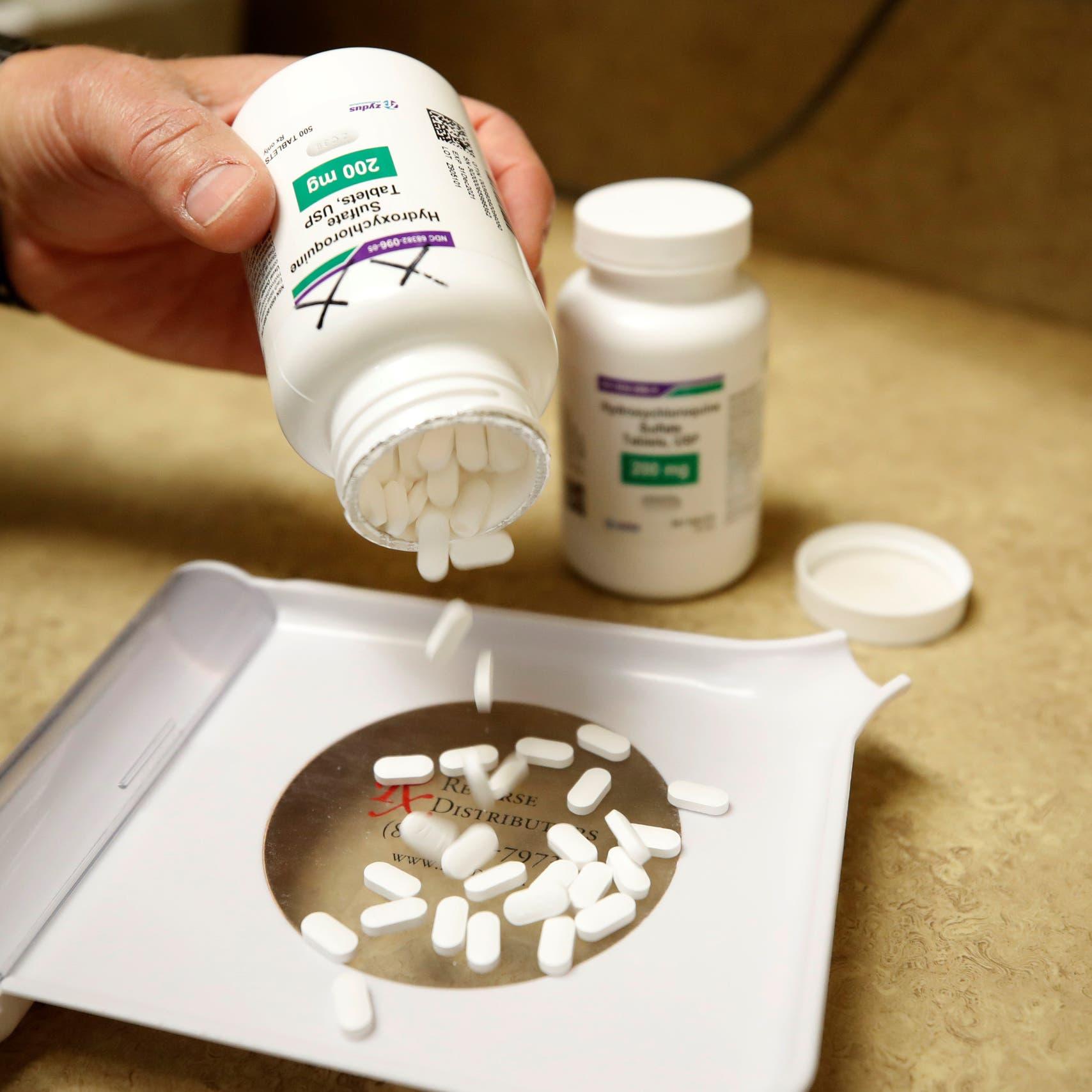 """منظمة الصحة: اختبارات """"كلوروكين"""" للوقاية من كورونا مستمرة"""
