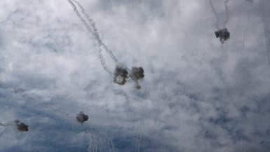 سقوط صاروخ أطلق من غزة قرب إحدى المستوطنات