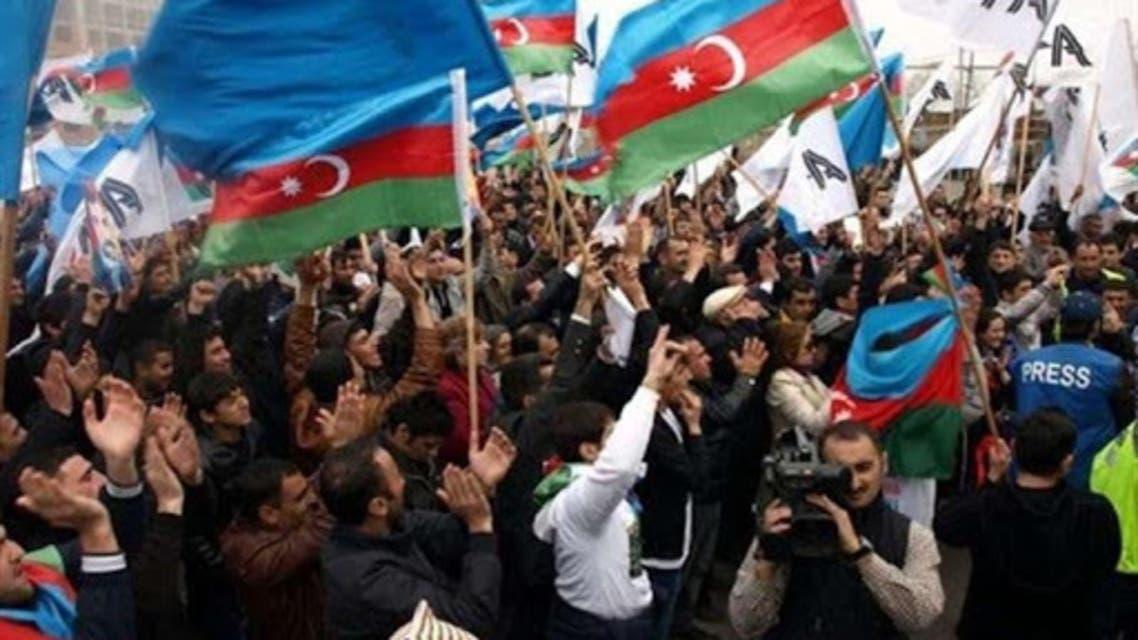 مظاهرات آذربيجانية