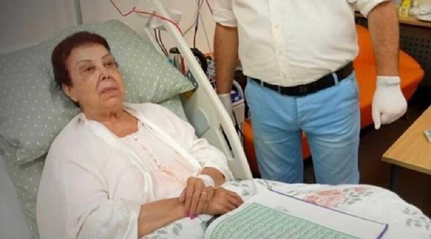 رجاء الجداوي بالمستشفى بداية إصابتها