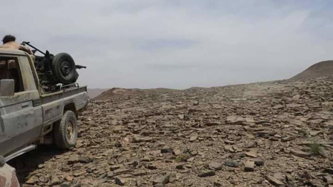الجيش اليمني في جبهة نهم في صنعاء