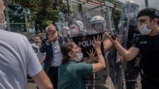 Police fire tear gas on pro-Kurdish protesters in northwest Turkey