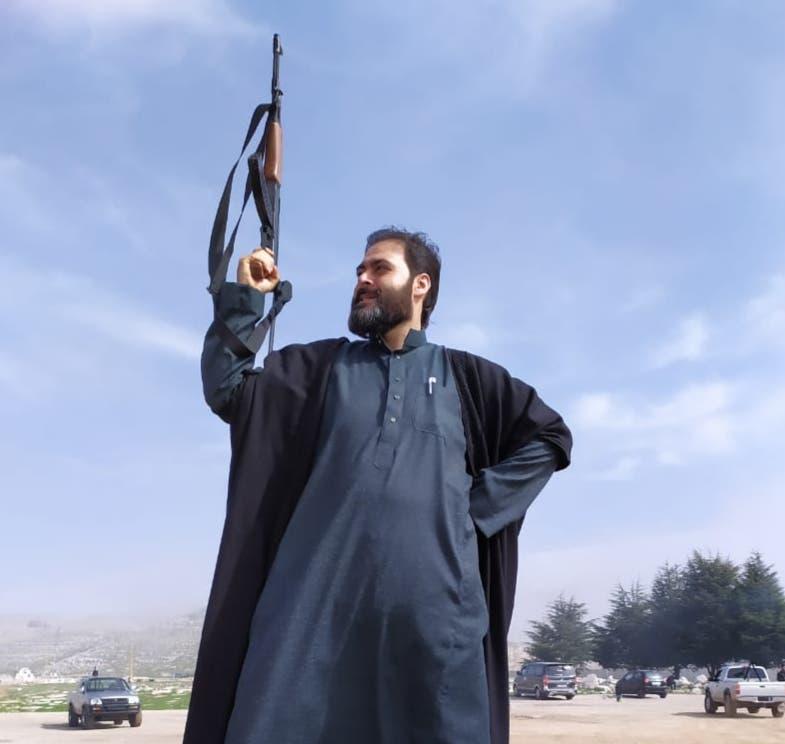أحمد الرافعي في مشهد من المسلسل