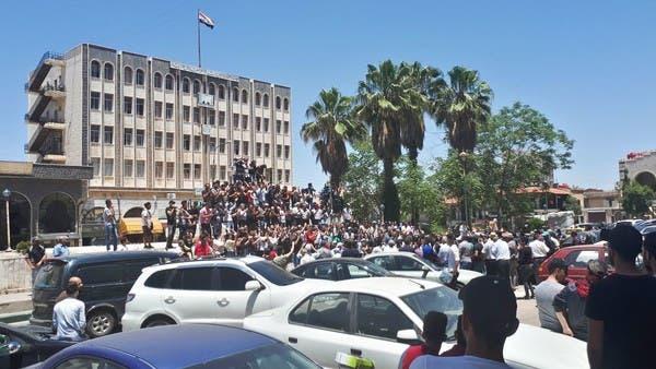 """""""قيصر"""" بعد ساعات.. والأسد يفرق المظاهرات بـ""""البعثيين"""""""