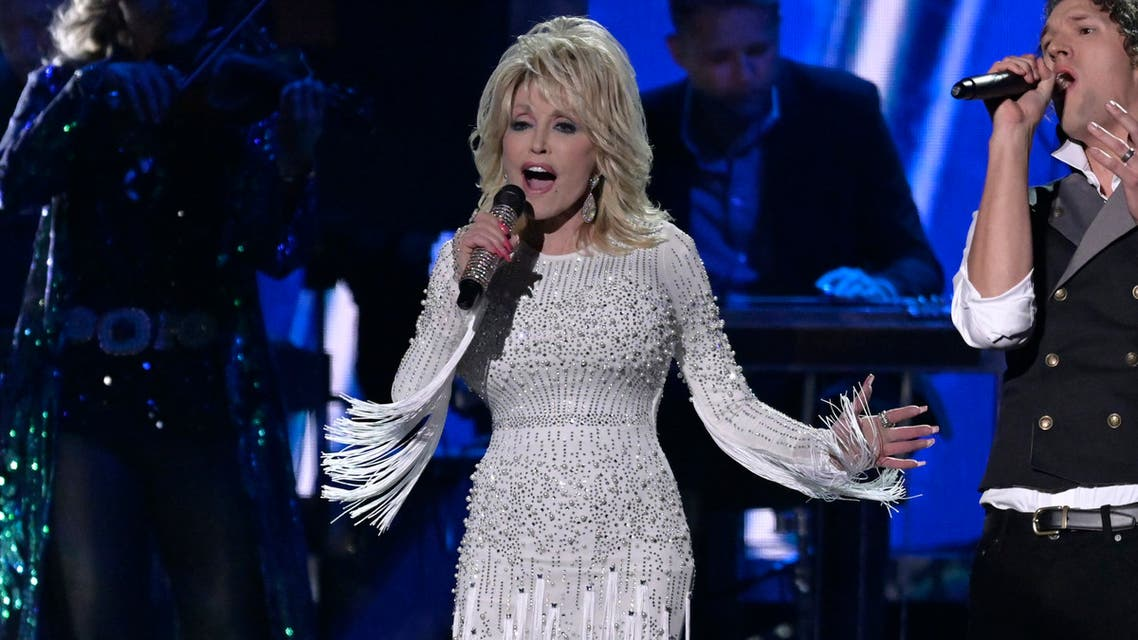 Dolly Parton performs at the 53rd Annual CMA Awards in Nashville, Tennessee in November 2019. (File photo: Reuters)