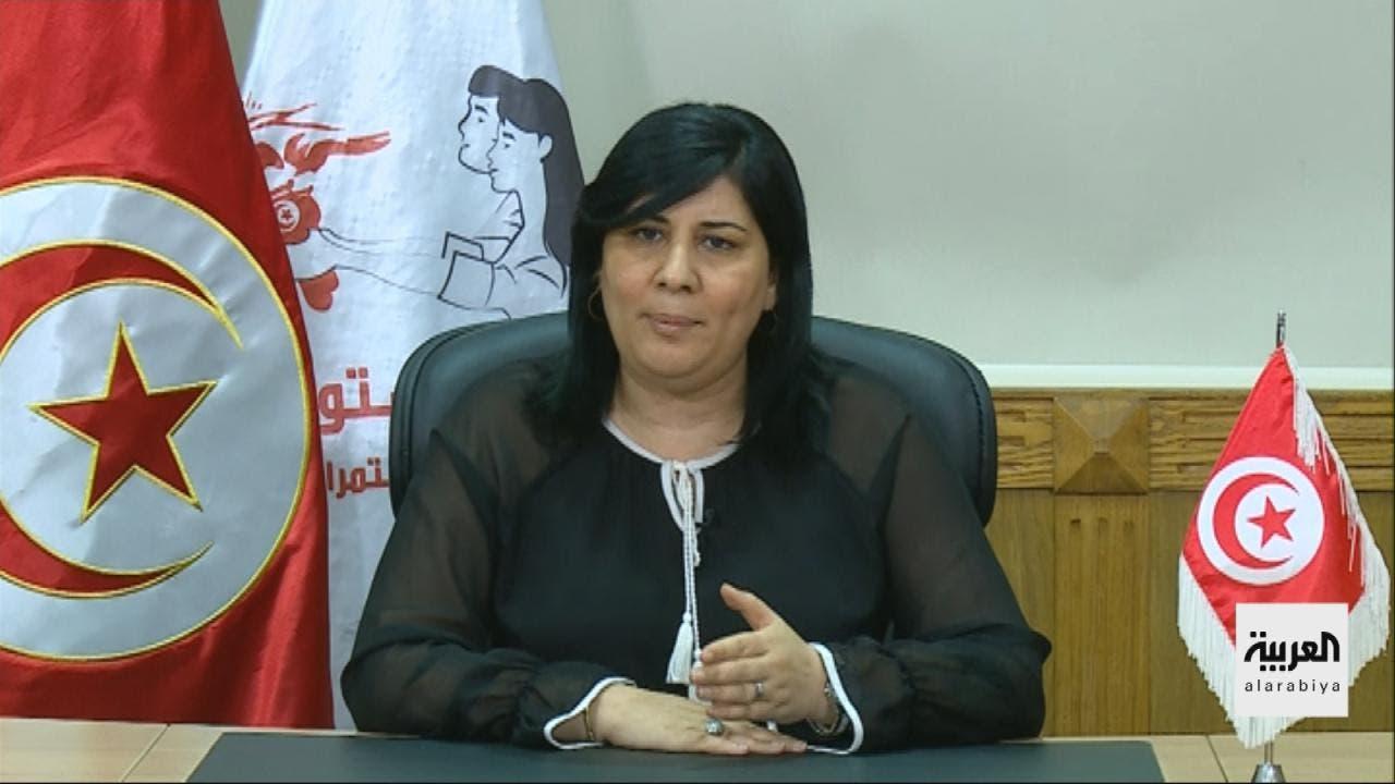 رئيسة الحزب الدستوري الحر التونسي عبير موسي