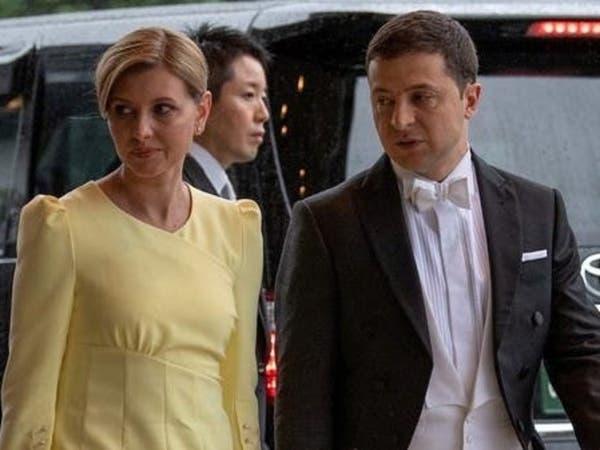 طالها الوباء.. زوجة رئيس أوكرانيا تدخل المستشفى